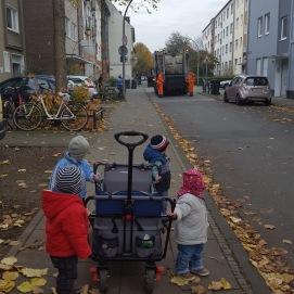 Wir sind fast täglich unterwegs und erkunden die Nachbarschaft.