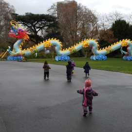China Light Festival im Kölner Zoo.